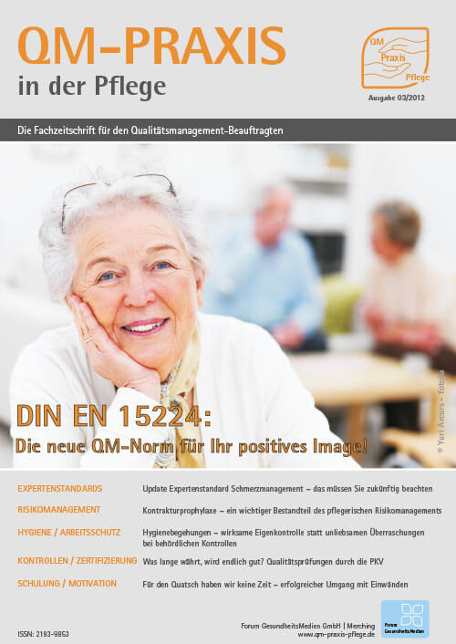 Ausgabe Mär/Apr 2012<br>DIN 15224:2012 – Entwurf