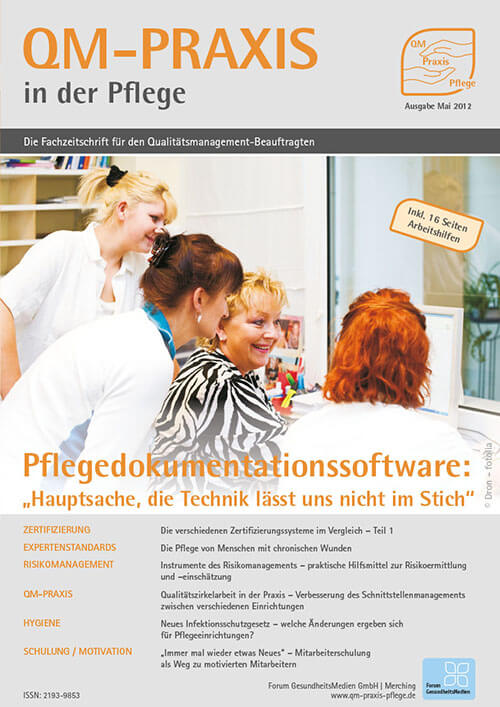 Ausgabe Mai/Jun 2012<br>Pflegedokumentationssoftware