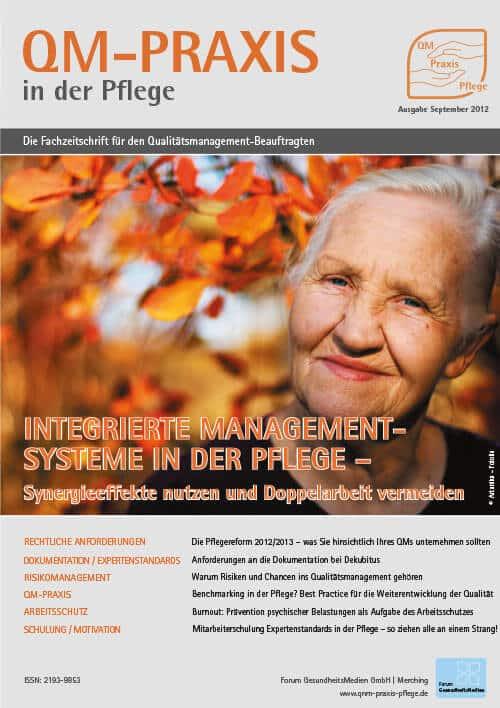 Ausgabe Sep/Okt 2012<br>Integrierte Managementsysteme