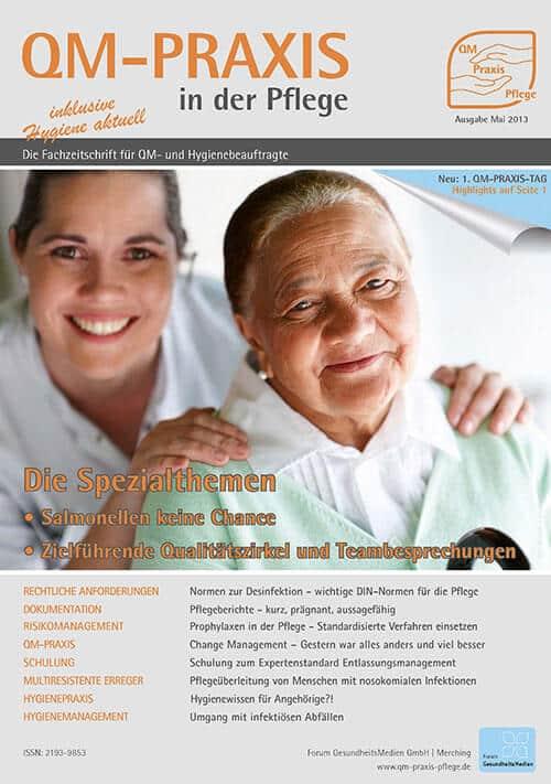 Ausgabe Mai/Jun 2013<br>Qualitätszirkel<br>Salmonellen