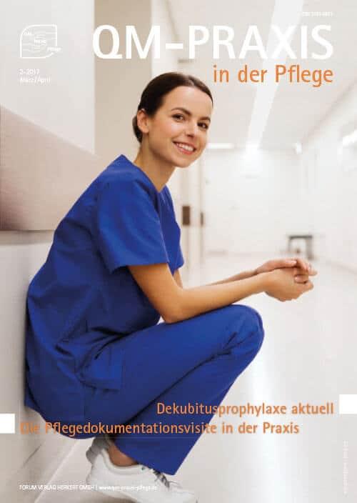 Ausgabe Mär/Apr 2017<br>Dekubitusprophylaxe<br>Pflegedokumentationsvisite