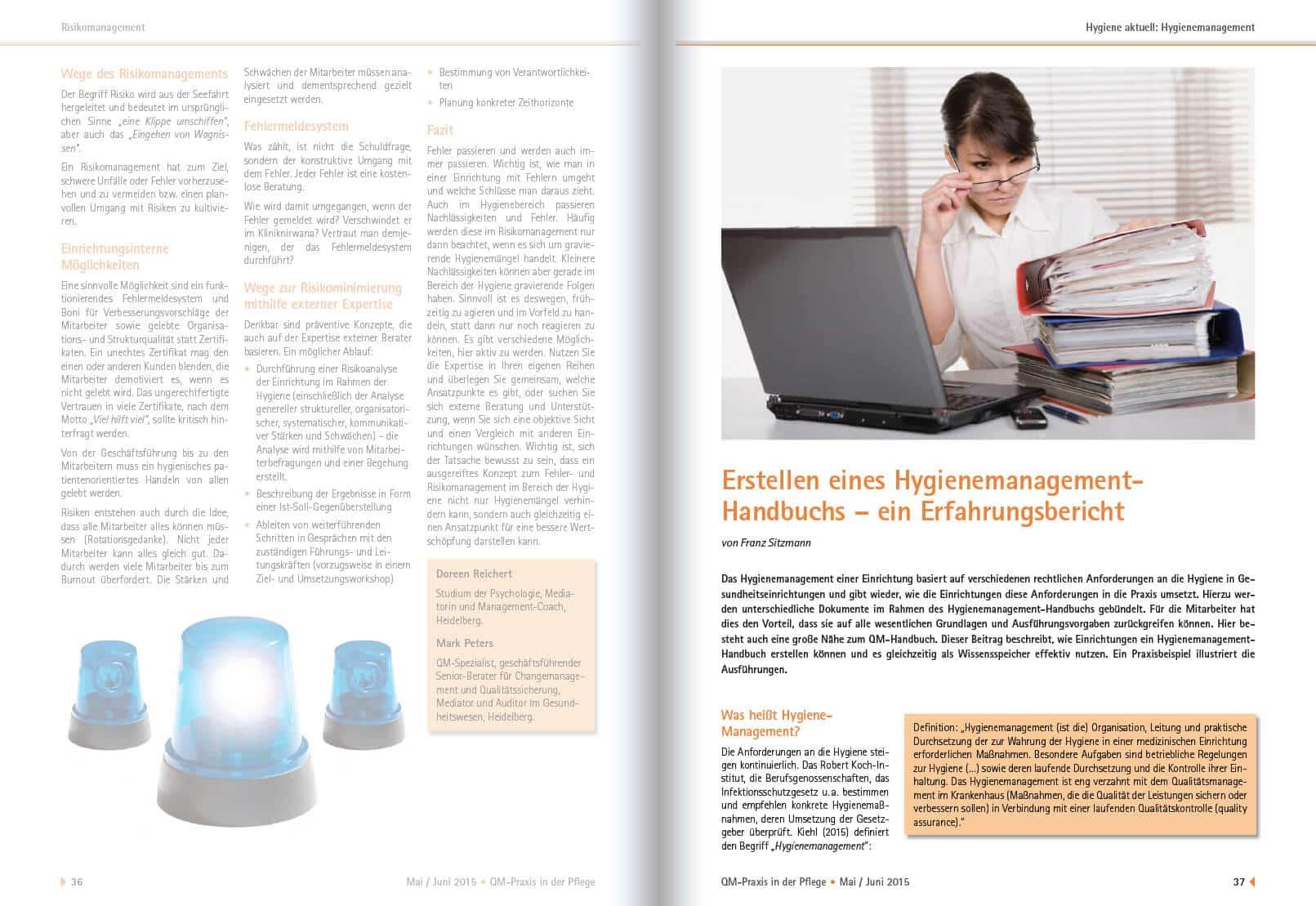 2015-05 Erstellen Hygienemanagement-Handbuch 1