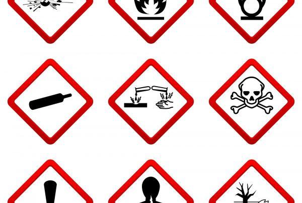 2016-05 Umgang mit Gefahrstoffen in Krankenhäusern und Pflegeeinrichtungen Header