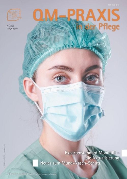 Ausgabe Jul/Aug 2020<br>Mund-Nasen-Schutz